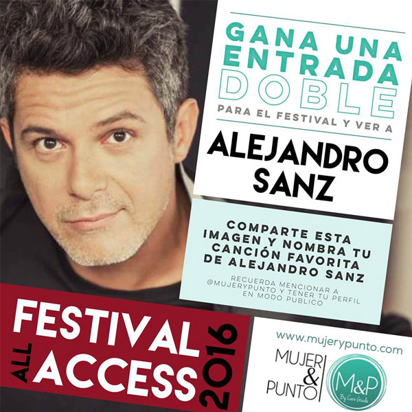 concurso alejandro sanz all access 2016