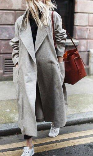 prendas oversize abrigo