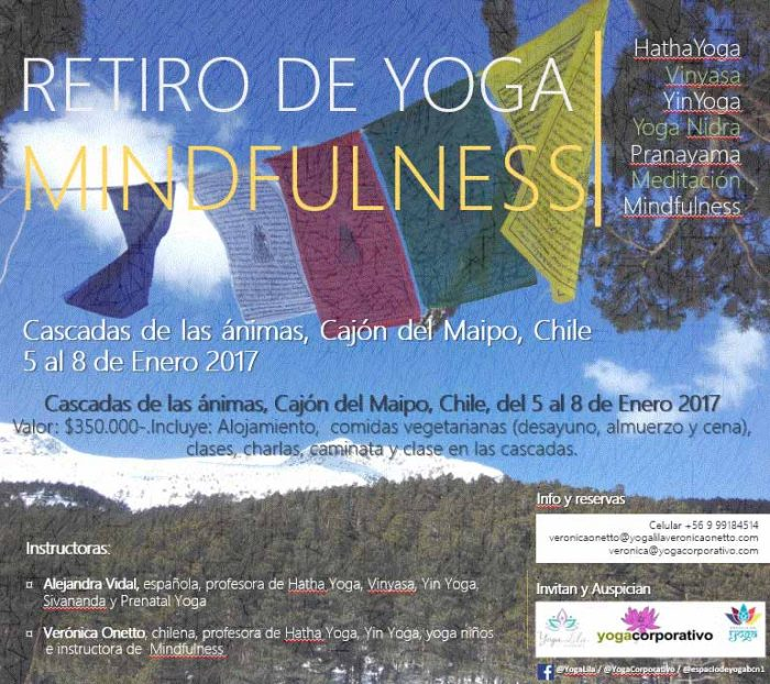 retiro de yoga y mindfullness