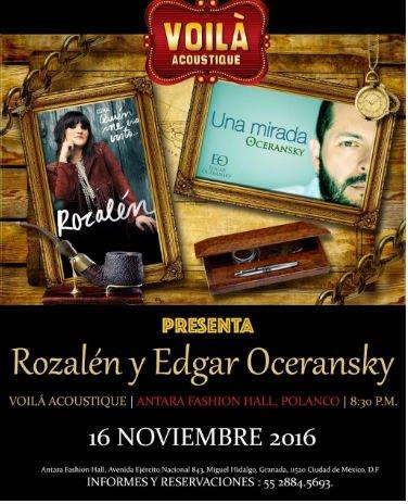 rozalen se presenta en mexico afiche concierto