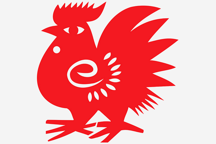 chinese-red-rooster-paper-cut-craft