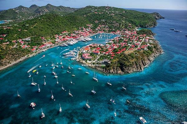 islas más hermosas san bartolomé