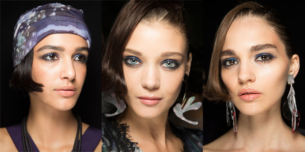 Maquillaje para fiestas Armani