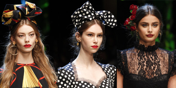 Maquillaje para fiestas Dolce Gabbana