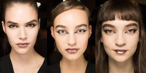 Maquillaje para fiestas Fendi