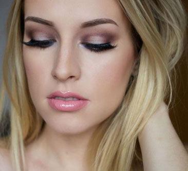 Maquillaje para ojos en sombra
