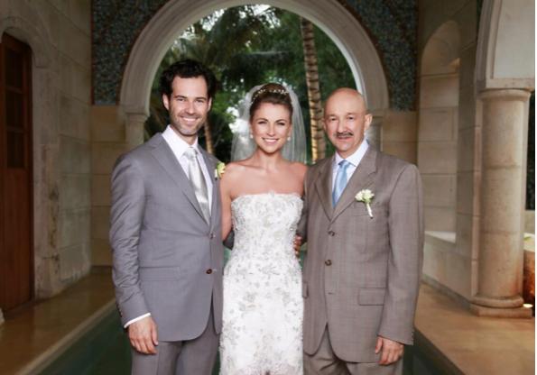 Ludwika Paleta boda con Emiliano Salinas