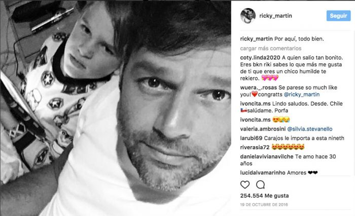 Ricky Martin Hijos 2