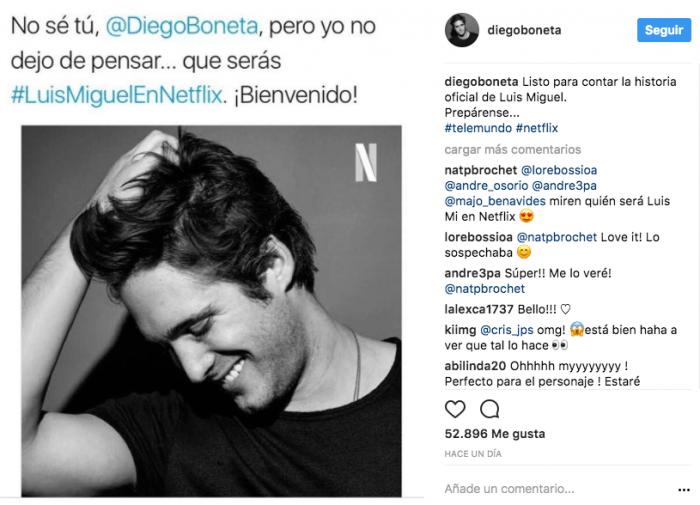 Diego Boneta Luis Miguel
